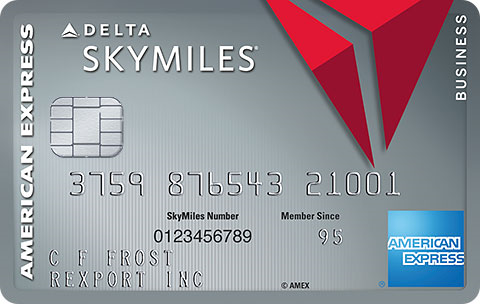 Platinum Delta SkyMiles<sup>&reg;</sup> Business Credit Card from American Express