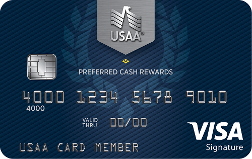 usaa preferred cash rewards visa signature card