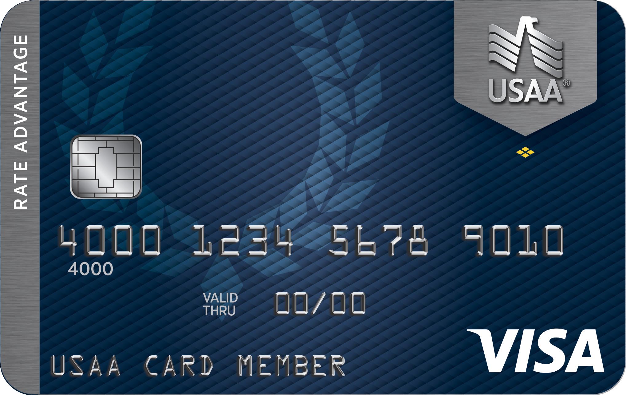 USAA Rate Advantage Visa Platinum<sup>&reg;</sup> Card
