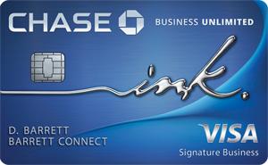 Ink Business Unlimited<sup>®</sup> Credit Card