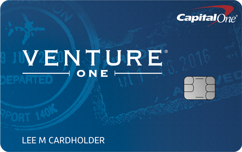Capital One<sup>&reg;</sup> VentureOne<sup>&reg;</sup> Rewards Credit Card