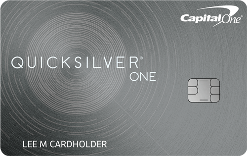 Capital One<sup>®</sup> QuicksilverOne<sup>®</sup> Cash Rewards Credit Card