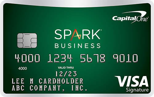 Capital One<sup>®</sup> Spark<sup>®</sup> Cash Select for Business