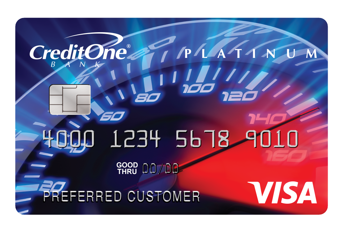 Credit One Bank<sup>&reg;</sup> Platinum Visa<sup>&reg;</sup> with Cash Back Rewards