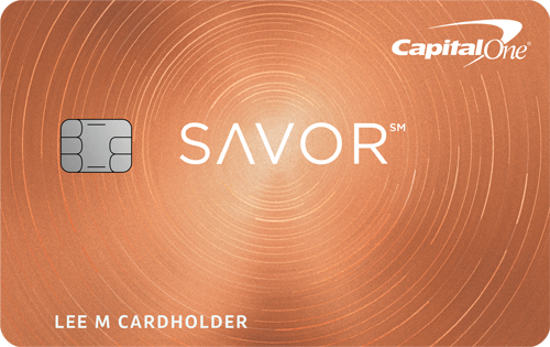 Capital One<sup>®</sup> Savor<sup>®</sup> Cash Rewards Credit Card