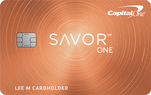 Capital One<sup>®</sup> SavorOne℠ Cash Rewards Credit Card