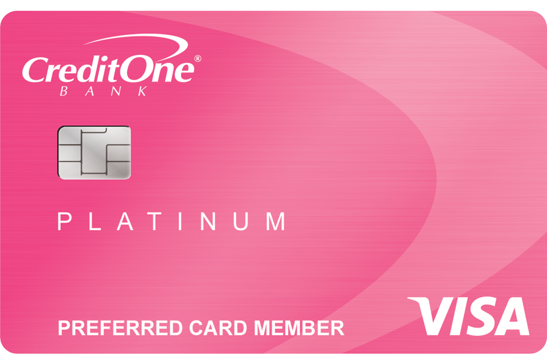 Credit One Bank<sup>®</sup> Platinum Visa<sup>®</sup> for Rebuilding Credit