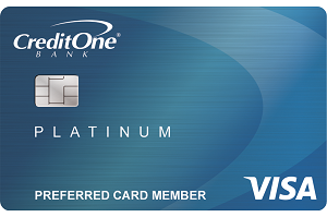 credit one bank visa with free credit score tracking