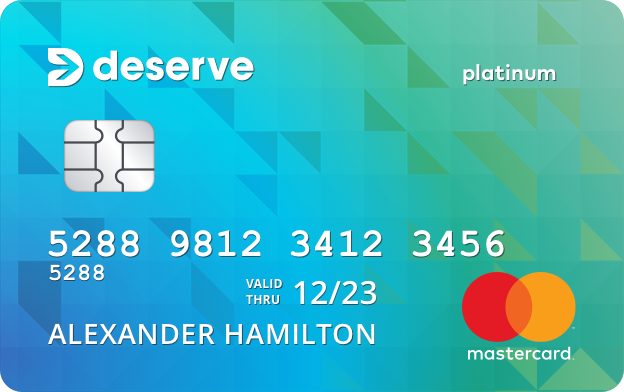 Deserve<sup>&reg;</sup> Classic Mastercard
