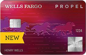Wells Fargo Propel American Express<sup>&reg;</sup> Card
