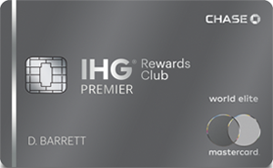 IHG<sup>®</sup> Rewards Club Premier Credit Card