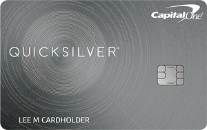 Capital One<sup>&reg;</sup> Quicksilver<sup>&reg;</sup> Cash Rewards Credit Card