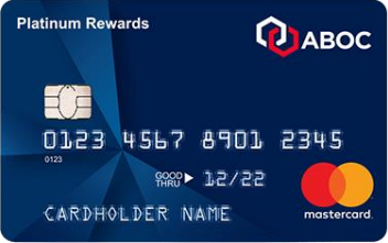 ABOC Platinum Rewards Mastercard<sup>®</sup> Credit Card