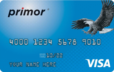 Green Dot primor<sup>®</sup> Visa<sup>®</sup> Classic Secured Credit Card