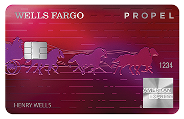 Wells Fargo Propel American Express<sup>&reg;</sup> Card