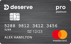 Deserve<sup>®</sup> Pro Mastercard