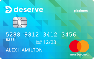 Deserve<sup>®</sup> Classic Mastercard