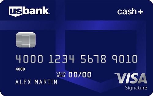U.S. Bank Cash+&trade; Visa Signature<sup>&reg;</sup> Card