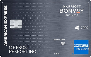 Marriott Bonvoy Business&trade; American Express<sup>&reg;</sup> Card