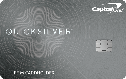 Capital One<sup>®</sup> Quicksilver<sup>®</sup> Cash Rewards Credit Card