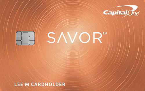 Capital One<sup>&reg;</sup> Savor<sup>&reg;</sup> Cash Rewards Credit Card