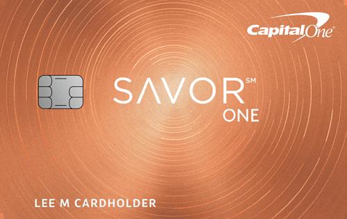 Capital One<sup>&reg;</sup> SavorOne&#8480; Cash Rewards Credit Card
