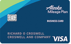 Alaska Airlines Visa<sup>&reg;</sup> Business credit card
