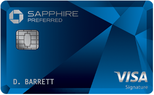 Chase Sapphire Preferred<sup>®</sup> Card