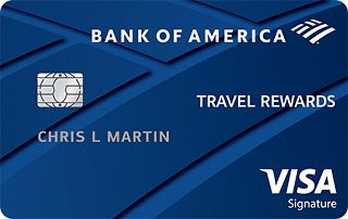 Bank of America<sup>®</sup> Travel Rewards Visa<sup>®</sup> credit card