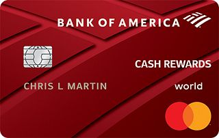 Bank of America<sup>&reg;</sup> Cash Rewards credit card