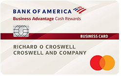 Bank of America<sup>&reg;</sup> Business Advantage Cash Rewards Mastercard<sup>&reg;</sup> credit card