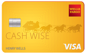 Wells Fargo Cash Wise Visa<sup>®</sup> Card