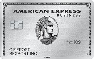 The Business Platinum<sup>®</sup> Card from American Express
