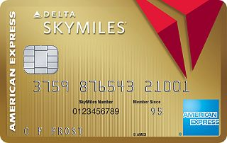 Gold Delta SkyMiles<sup>®</sup> Credit Card from American Express