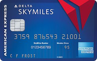 Blue Delta SkyMiles<sup>®</sup> Credit Card from American Express