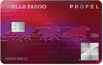 Wells Fargo Propel American Express<sup>®</sup> card