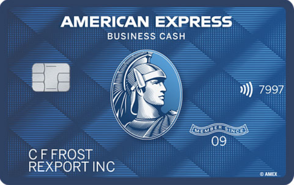 American Express<sup>®</sup> Blue Business Cash Card