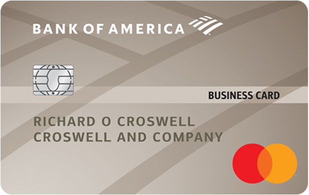 Bank of America Platinum Plus<sup>®</sup> Mastercard<sup>®</sup> Business card