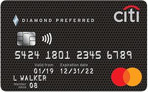 Citi<sup>®</sup> Diamond Preferred<sup>®</sup> Card