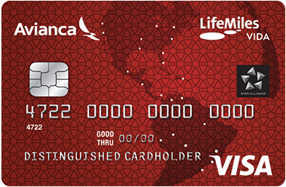 Avianca Vida Visa<sup>®</sup> Card