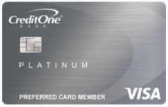 Credit One Bank<sup>®</sup> Cash Back Rewards Credit Card