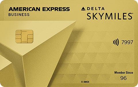 Delta SkyMiles<sup>®</sup> Gold Business American Express Card