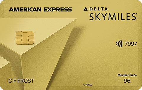 Delta SkyMiles<sup>®</sup> Gold American Express Card