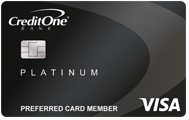 Credit One Bank<sup>®</sup> Platinum Visa<sup>®</sup> for Rebuilding Credit
