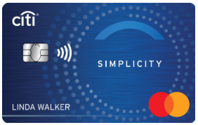 Low Interest Credit Card: Citi Simplicity