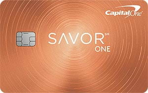 Capital One<sup>®</sup> SavorOne<sup>®</sup> Cash Rewards Credit Card