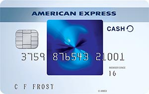 Cash Back Credit Card: American Express