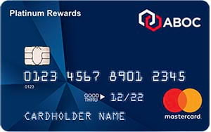 aboc platinum rewards mastercard credit card