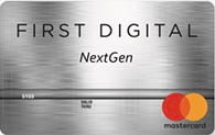 first digital nextgen mastercard credit card