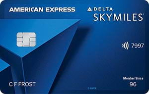 Delta SkyMiles<sup>®</sup> Blue American Express Card
